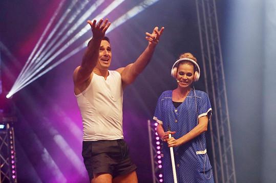 Andrea společně s Romanem Šebrlem měli úspěch.