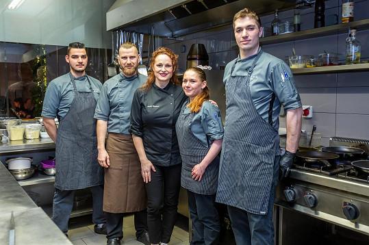 Markéta vařila slavnostní menu v oblíbené restauraci v Poděbradech ještě před vyhlášením nouzového stavu.