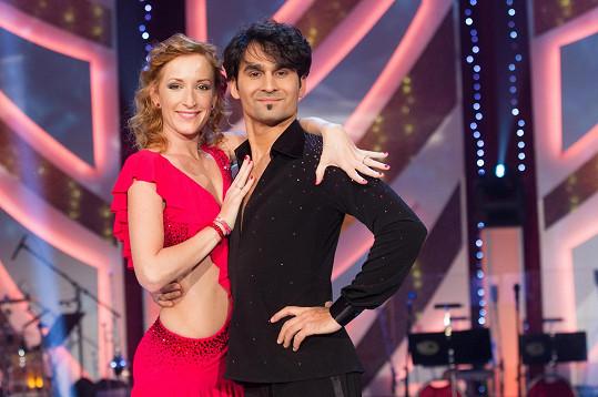 Radek Banga a Tereza Bufková spolu tančili v sedmé řadě StarDance.