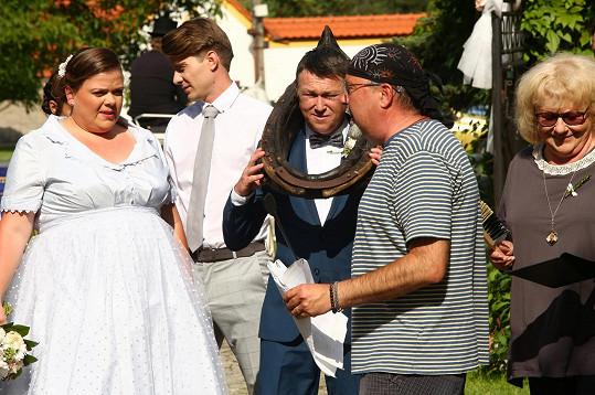 Martin Sitta je zkušený svatební matador.