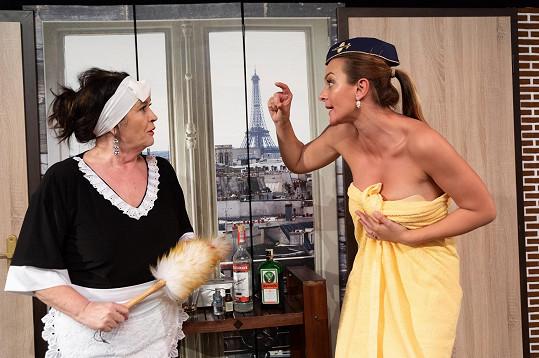 Představení, kde se Barbora odhaluje, režíruje Hana Gregorová.