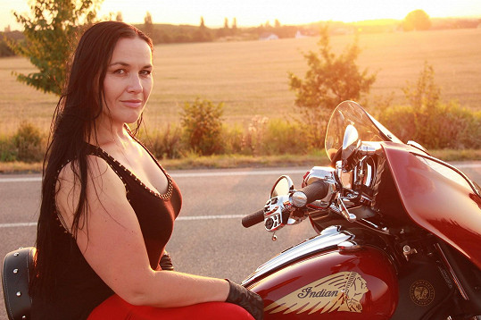 Jana Rychterová a její nejoblíbenější dopravní prostředek