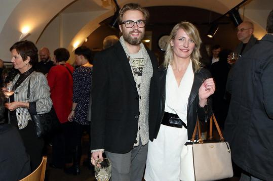Svou přítelkyni podpořil i Michal Kurtiš.