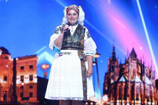 Lucia Balajová zpívala v Talentu píseň Zombie.