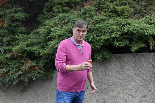Zavzpomínat přišel i moderátor Václav Tittelbach.