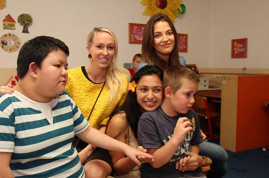 Speciální školu navštěvují děti s různým druhem postižení.
