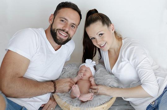 Michael, Eliška a Lia Foretovi