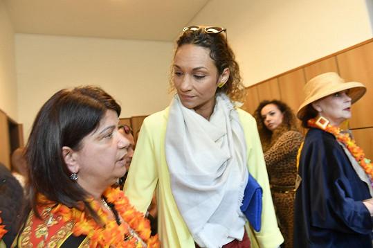 Lejla Abbasová (vpravo) s životní láskou Dana Nekonečného Zuzanou Kardovou