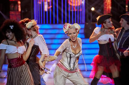 Kateřina předvedla skvělou show.