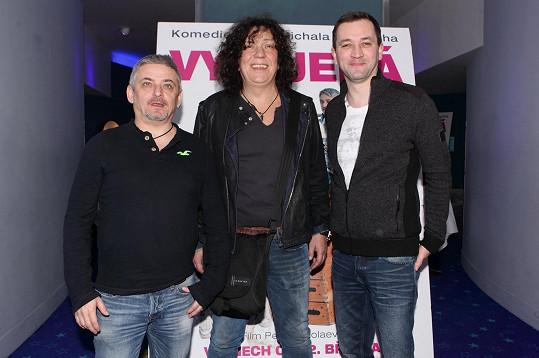 Michal Suchánek, Richard Gezer a Ondřej Sokol