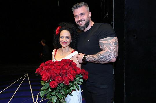 Lucie s partnerem Radkem
