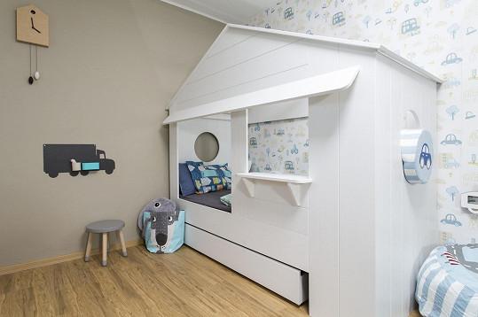 V takovém pokojíku se bude malému Vítkovi určitě líbit.