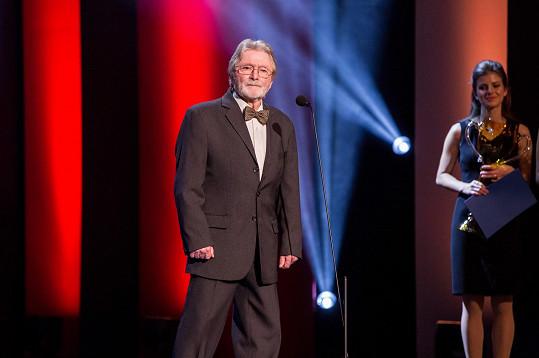 Ladislav Mrkvička loni získal cenu Thálie.