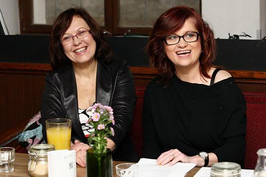 Šárka Volemanová s doktorkou Kateřinou Cajthamlovou