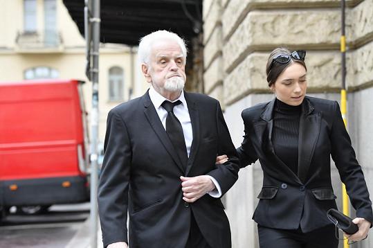 Jiří Kepka se loni loučil se svou manželkou, herečkou Gabrielou Vránovou. Nyní se rozloučil se svým bratrem.