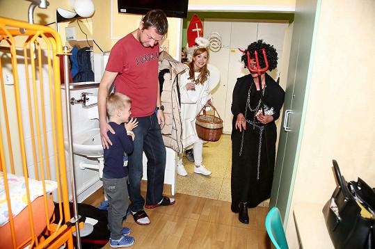 Některé děti se zpočátku trošku bály.
