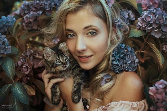 Slováčková je sama velká milovnice koček.