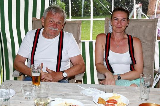 Karel Šíp s manželkou Ivou