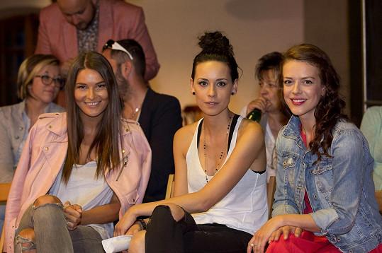 Poradkyně modelingového kurzu Nikol, Katka a Andrea