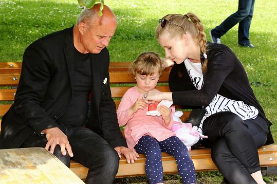 Michal Horáček s manželkou Michaelou a dcerou Julií