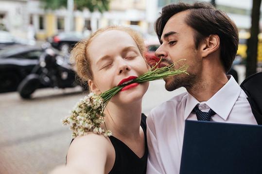 Anna Linhartová s Janem Hofmanem