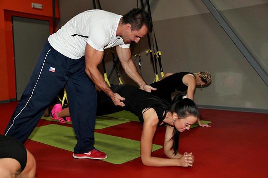 Soustředění zahrnovalo i pořádný trénink ve fitku.