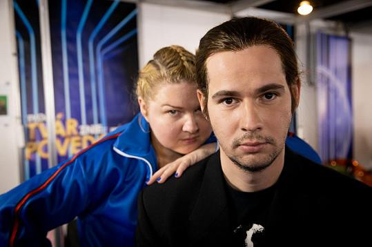 Fero a Evelyn se potkali v šesté řadě soutěže Tvoja tvár znie povedome.