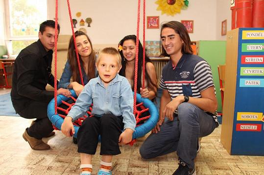 Nadační fond vznikl kvůli bratrovi Kateřiny Radovanovi.