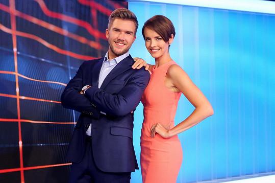 Gabriela Lašková a Matěj Misař jsou novou moderátorskou dvojicí Velkých Zpráv.