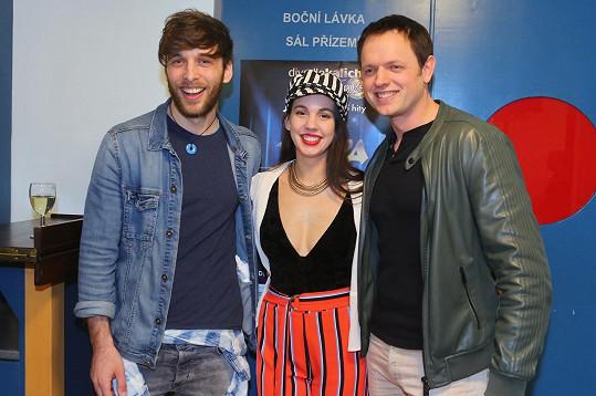 S kolegy Míšou Tomešovou a Romanem Tomešem se objeví v novém muzikálu.