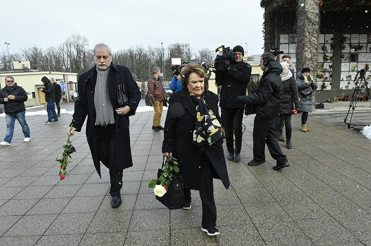 Zdeněk Zelenka a Jiřina Bohdalová