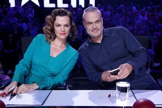 Kromě toho je opět porotkyní v soutěži Česko Slovensko má talent.