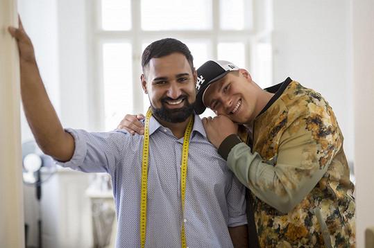 Pavel Berky s přítelem Matějem Pardusem