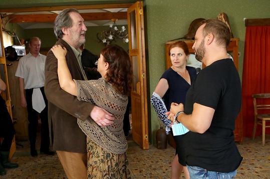 Choreografii jim vymýšlel Marek Dědík ze StarDance.