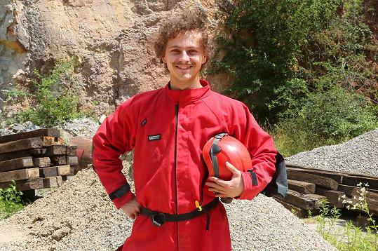 Dominick Benedikt si zahrál mladého blogera.