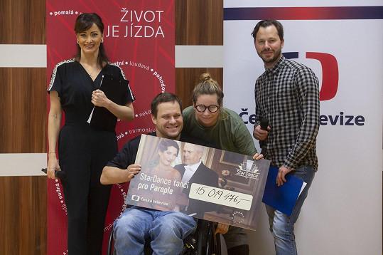 Akce se zúčastnila i Daniela Šinkorová a Michal Padevět.