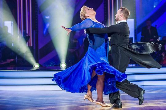 Pavla s Markem tančili v minulém kole valčík.