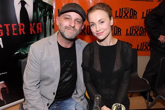 S filmovým manželem Hynkem Čermákem