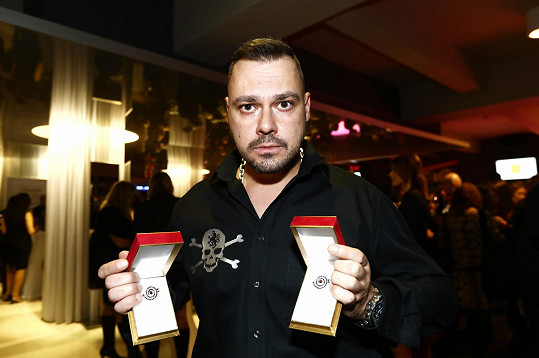 Tomáš Ortel získal dva Slavíky.