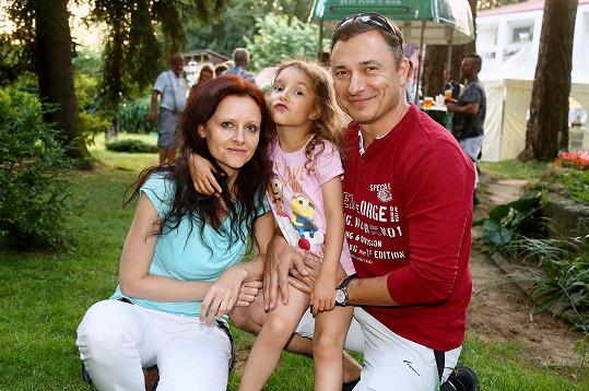 S přítelkyní má dceru Barborku.