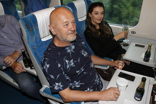 S partnerem Jiřím si vyrazili na víkend na Slovensko.