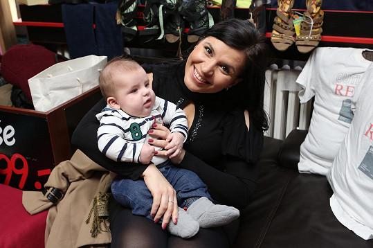 Malý Adrian za pár dní oslaví pět měsíců od narození.
