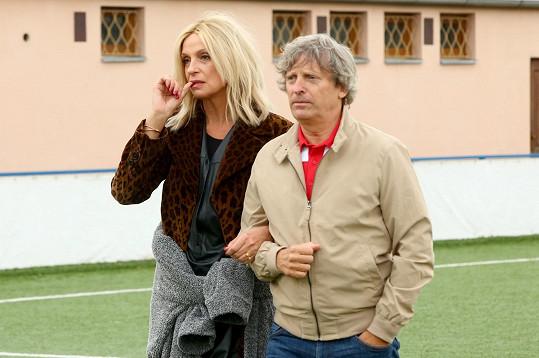 Ve filmu Vyšehrad si zahrají i Ivana Chýlková a David Prachař...