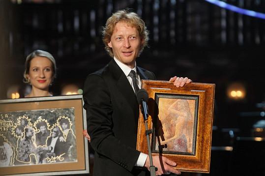 Před osmi lety obraz vydražil za 260 tisíc korun. Bohužel mu ho loni ukradli.