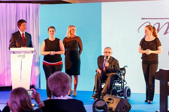 S šéfem Národní rady osob se zdravotním postižením Václavem Krásou
