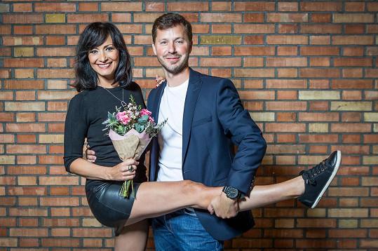 Daniela Šinkorová s Michalem Padevětem museli trénink odpískat hodinu před koncem.