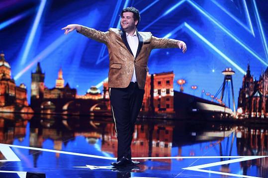 Australan předvedl v Talentu neotřelé vystoupení.
