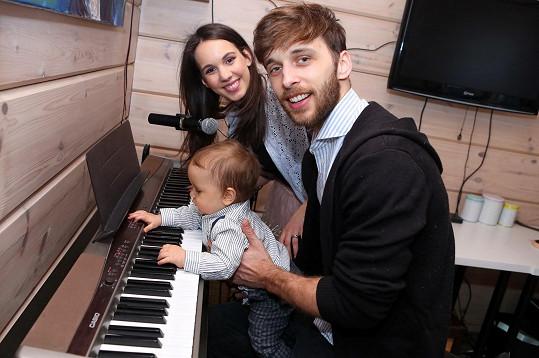 Kristián má v sobě jasné hudební geny.