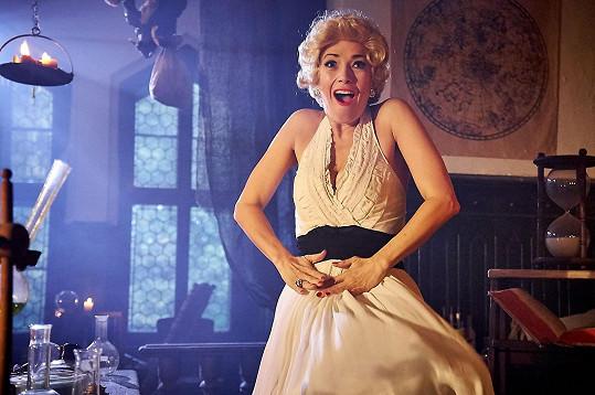 Líbí se vám Tereza víc jako Marilyn Monroe...