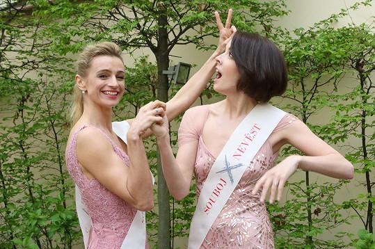 Ivana Jirešová a Gabriela Kratochvílová se staly patronkami soutěže Souboj nevěst.